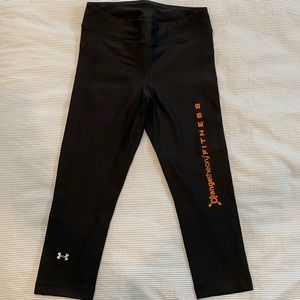 Underarmour x Orangetheory capri Heat Gear tights